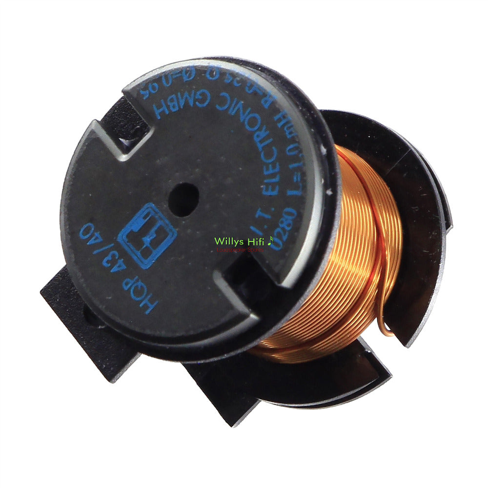 Crossover Inductors, 'T' Ferrite Core, 0.85-1.32mm wire