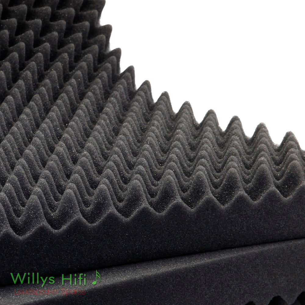 Egg Box Acoustic Foam - 60mm Profile