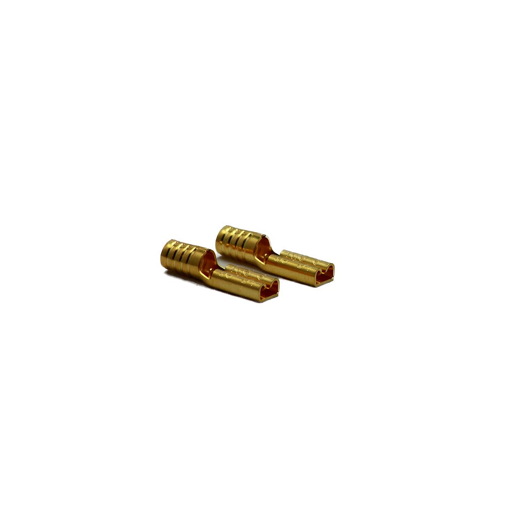 Gold Plated SPade Terminals - Small