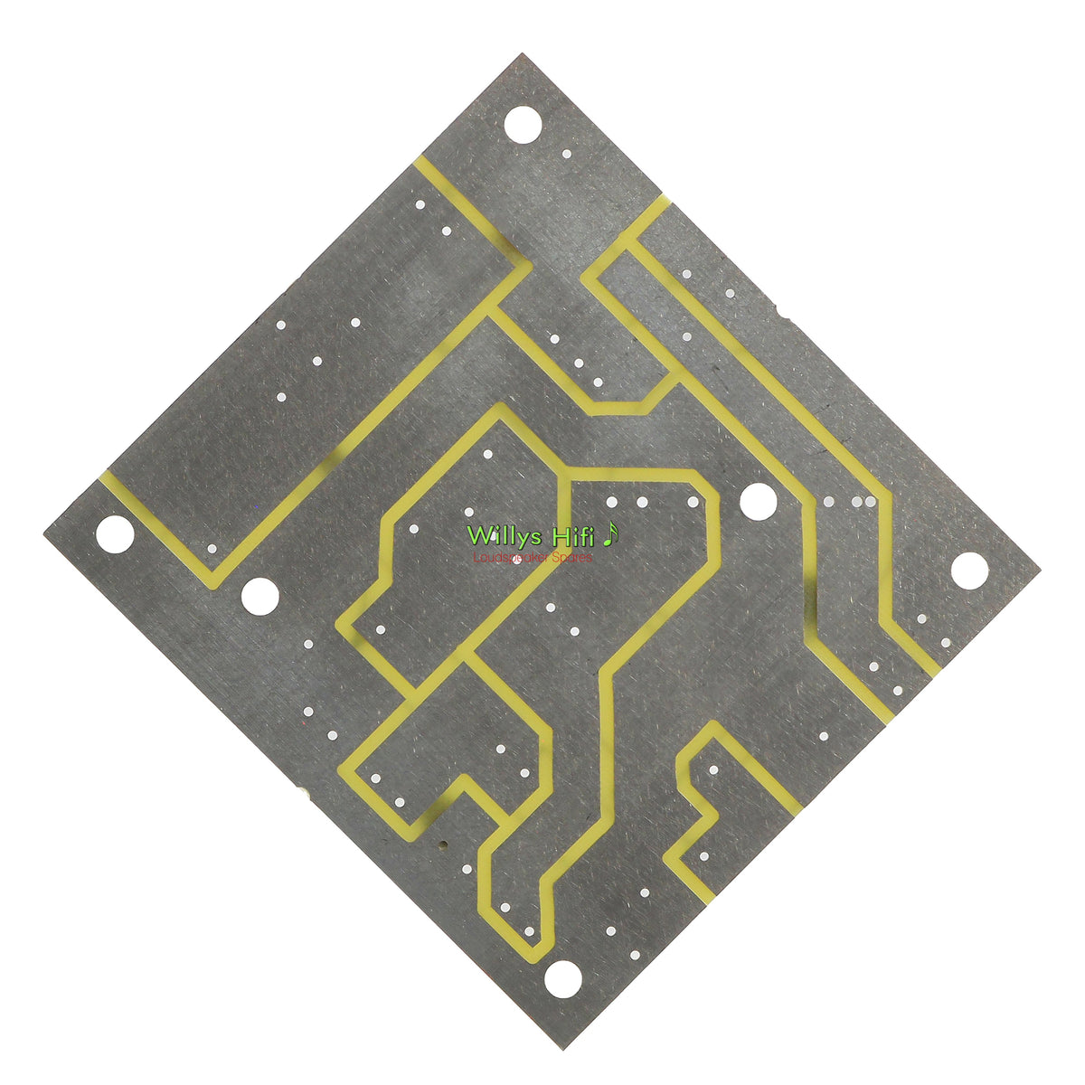 Intertechnik 2 Way Crossover PCB 1500634 rear view
