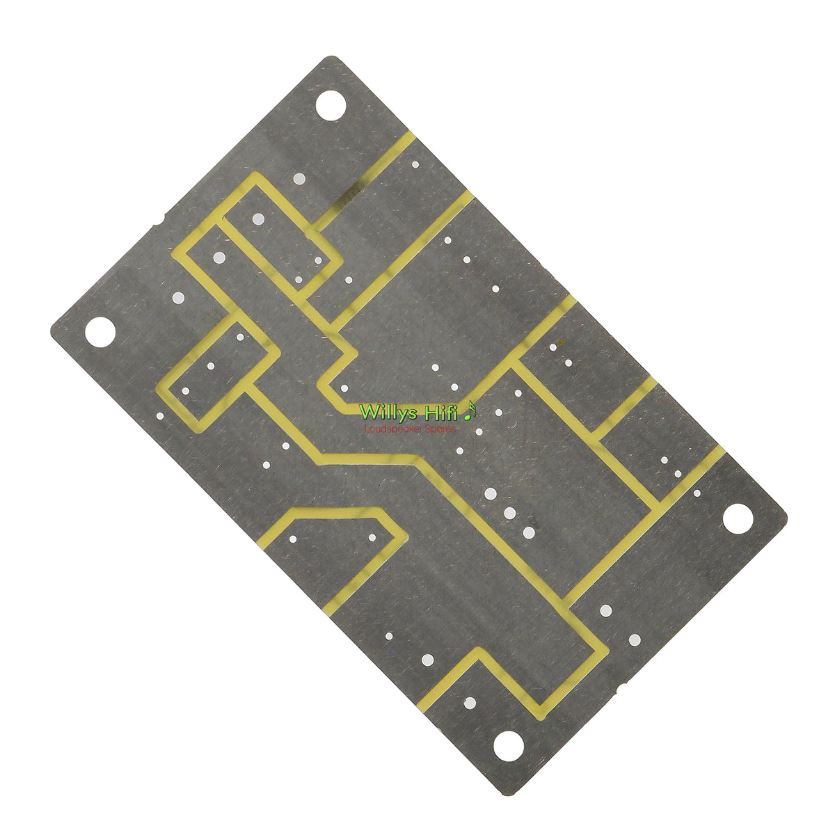 Intertechnik 2 Way Speaker Crossover PCB 1342763 - rear view
