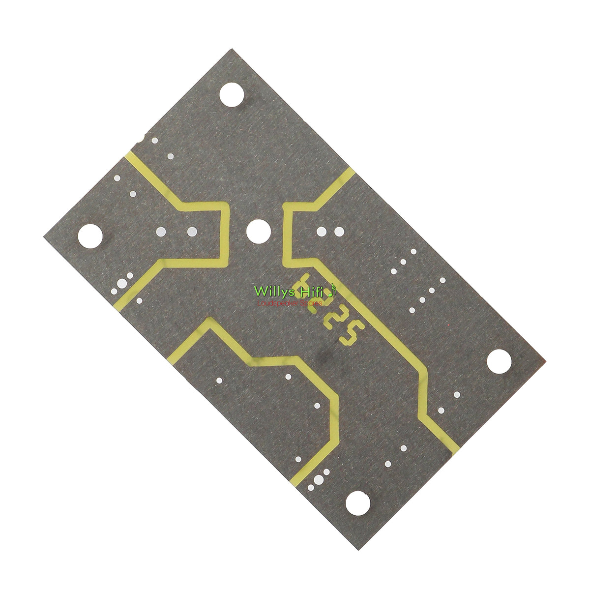 Intertechnik Low Pass Crossover PCB 1500630 rear view