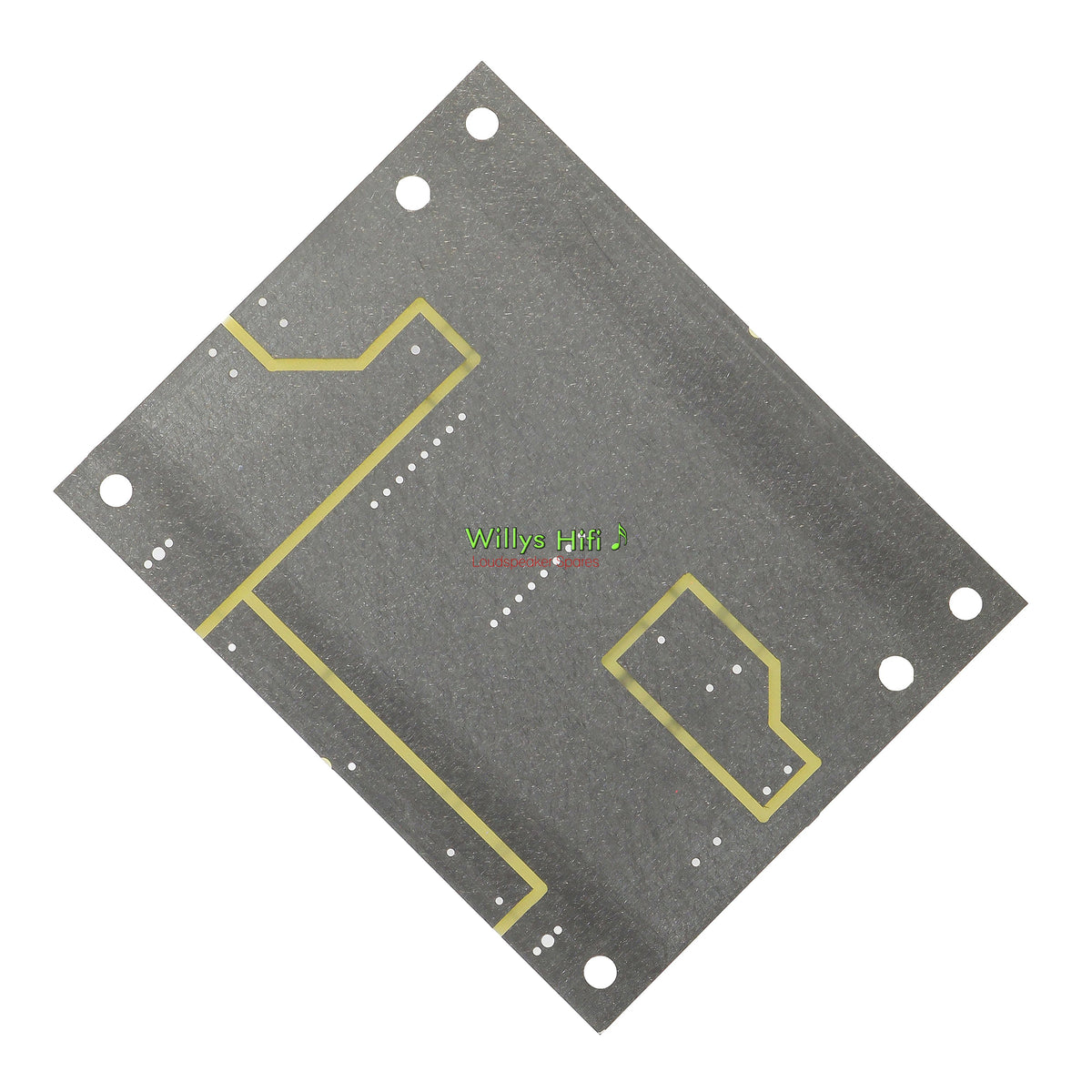 Intertechnik Low Pass Crossover PCB 1500644 rear view