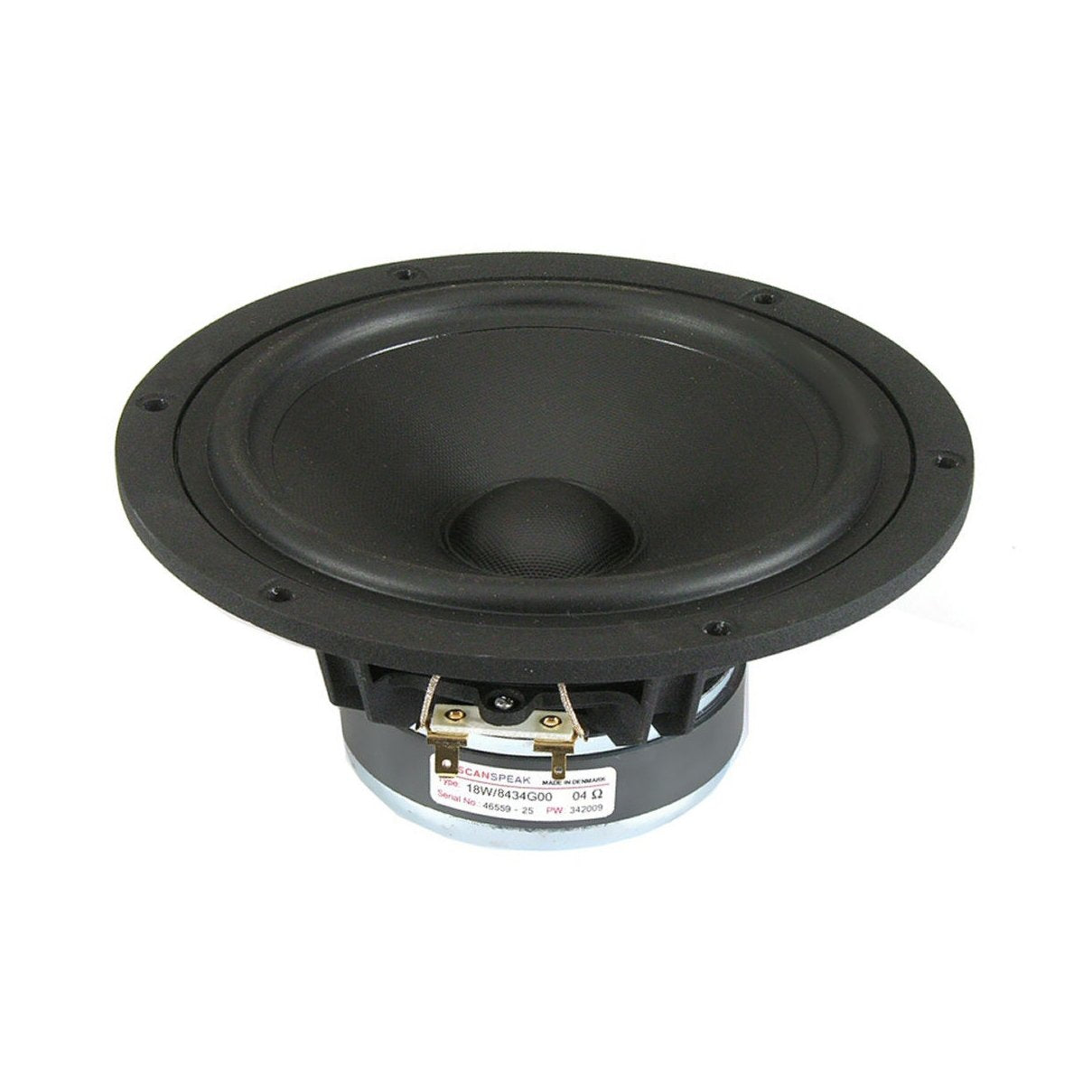 Scanspeak Discovery 18W/8434G00 Midwoofer - Willys-Hifi Ltd