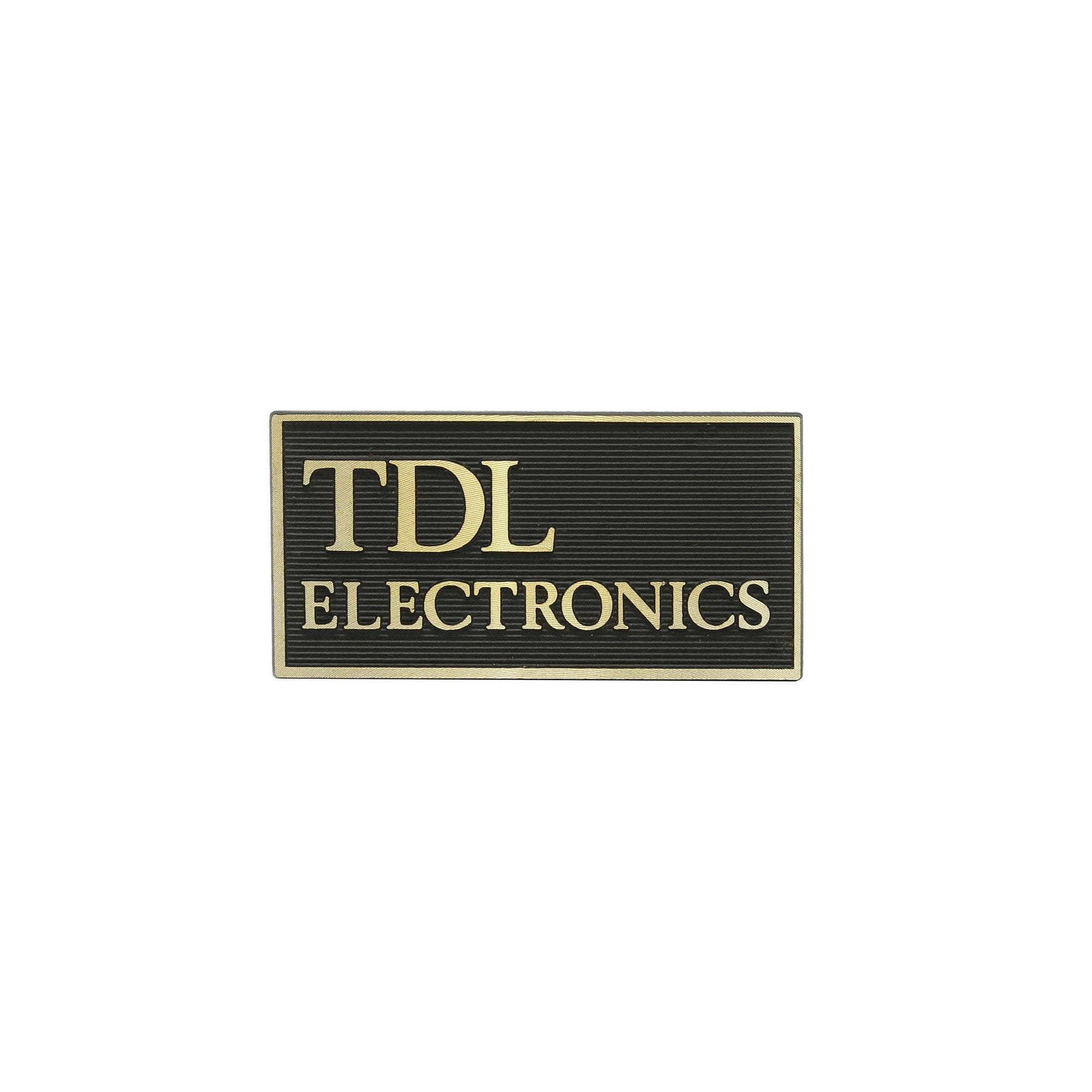 TDL Speaker Logo Badges x2 RTL Series GENUINE - Willys-Hifi Ltd