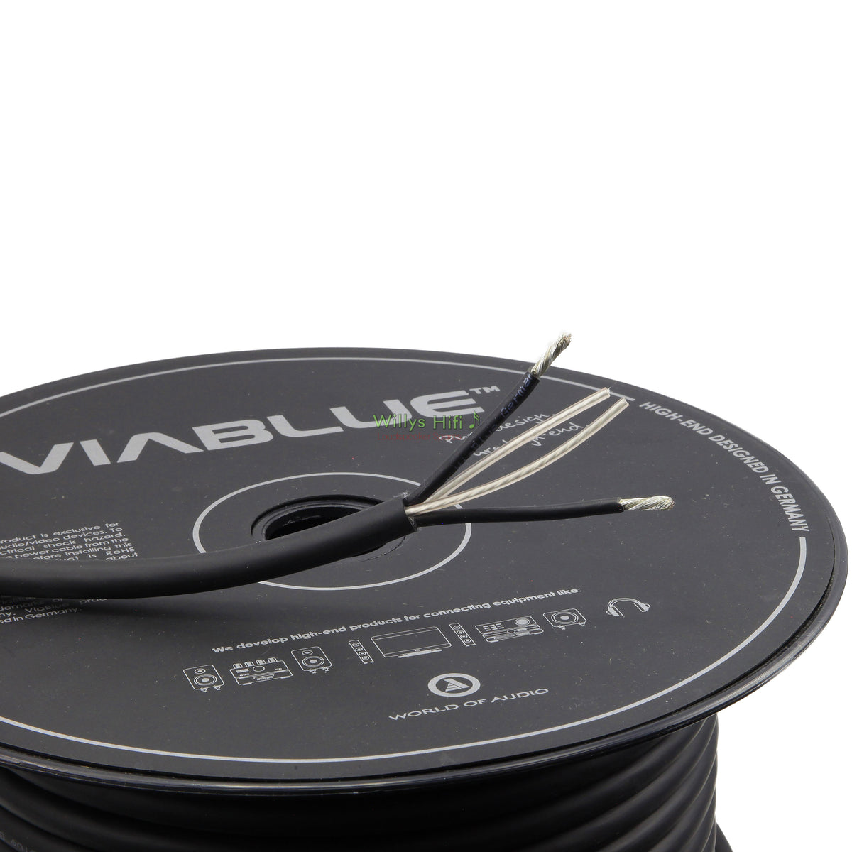 VIABLUE SC-2 Silver Series High End Speaker Cable Reel