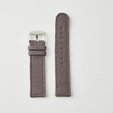 Grey Canvas/Leather Strap