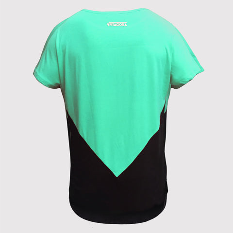 T-shirt NAAK x PITAGORA green/black