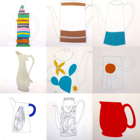 Jugs collage