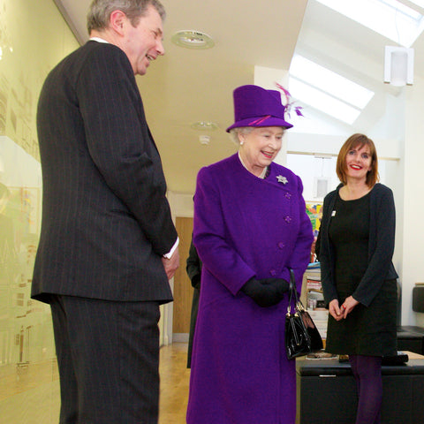 Caroline Rees meets The Queen