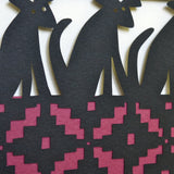 On Guard papercut detail