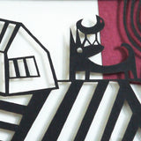 Friends papercut detail