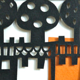 Neighbours papercut detail