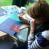 Paper Cutting Workshop inc materials, framing and refreshments.