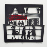 Cafe Papercut by Caroline Rees