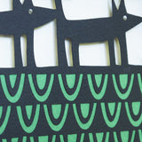 Procession papercut detail