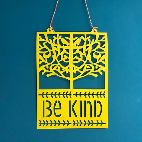 Be Kind Paper Cut for Cwm Taf Morgannwg Health Board