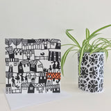 4 Architectural Greeting Cards. FREE UK DELIVERY