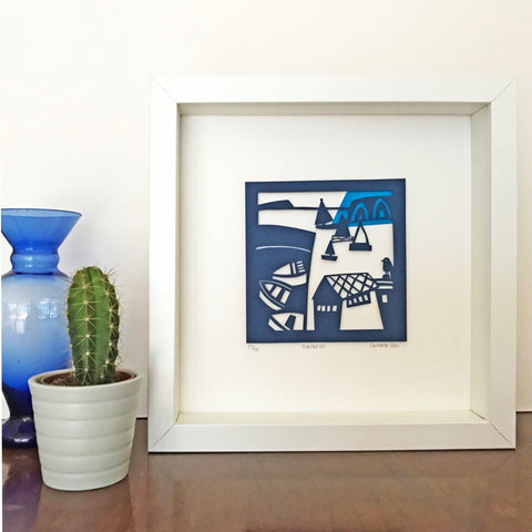 Harbour Limited Edition Paper Cut NEW