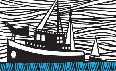 caroline rees paper cut illustration