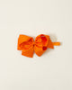 Orange Classic Bow Headband