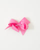 Medium Pink Classic Bow on ALLIGATOR CLIP