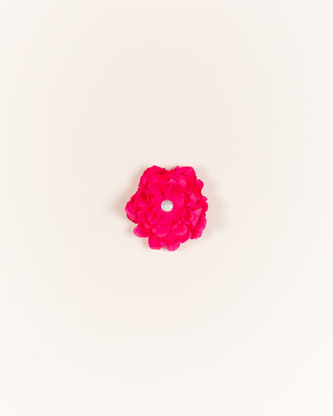 Bountiful Blossom Hair Clip - Hot Pink