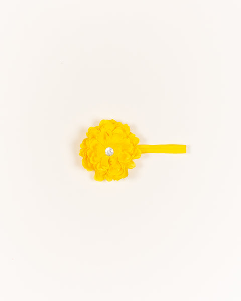 Bountiful Blossom Headband - Yellow