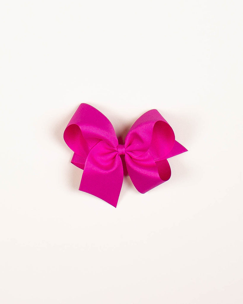 Wild Berry Classic Bow on ALLIGATOR CLIP