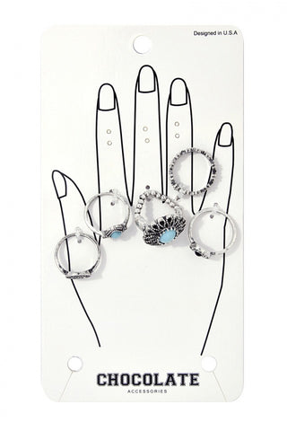 Laura Silver Rings