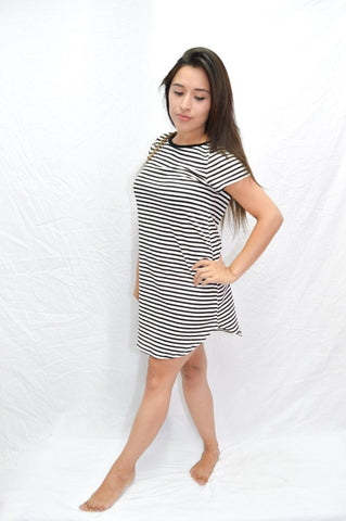 T-Shirt Dress - Style-Holic