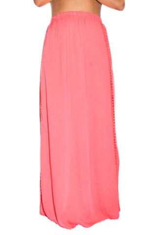 Coral Maxi Skirt - Style-Holic