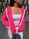 Hot Pink Windbreakrr