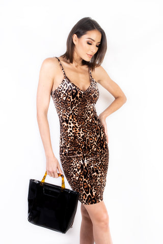 Harlow Leopard Dress