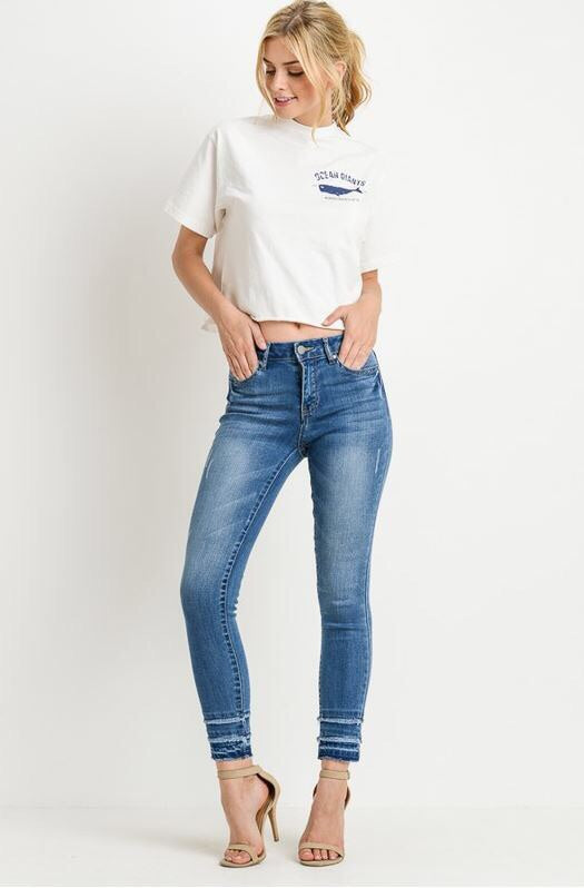 Jessi Mid Rise Jeans