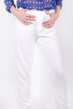White Formal Pants - Style-Holic