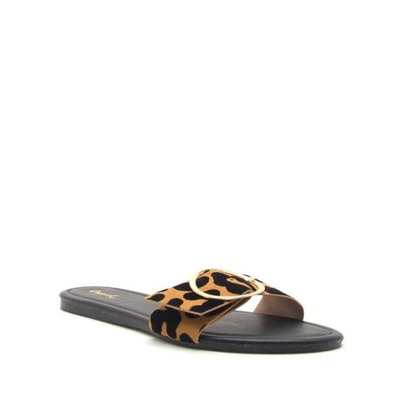 Leopard Ring Sandals