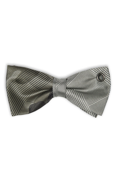 Noeud papillon en duo avec tissu camouflage - Bow tie with camouflage army italian fabric