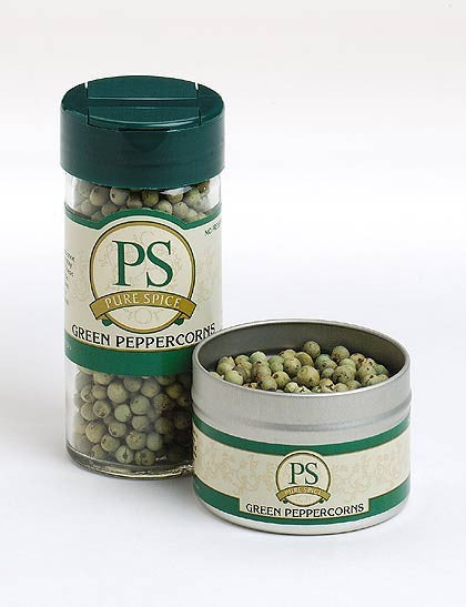 Green Peppercorns Air Dried