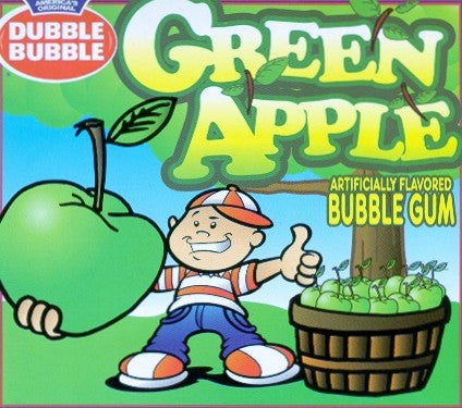 CONCORD GREEN APPLE (DUBBLE BUBBLE)