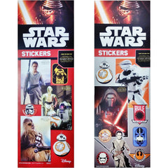 STAR WARS THE FORCE AWAKENS STICKER DISPLAY