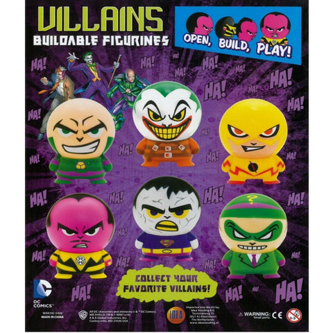"2"" DC VILLAIN BUILDABLES - 250 COUNT"