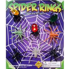 "1"" SPIDER RINGS DISPLAY"