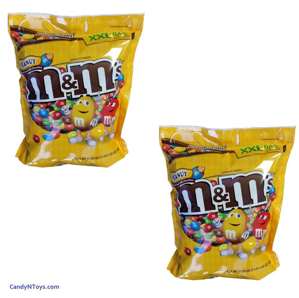 M&M'S PEANUTS 3 LBS PANTRY SIZE BAG