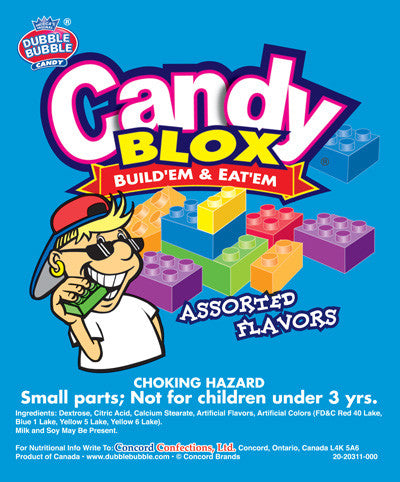 CONCORD CANDY BLOX - SPECIAL ORDER