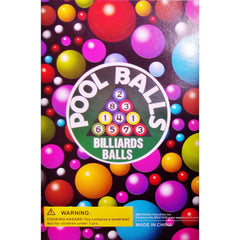 POOL BALLS DISPLAY