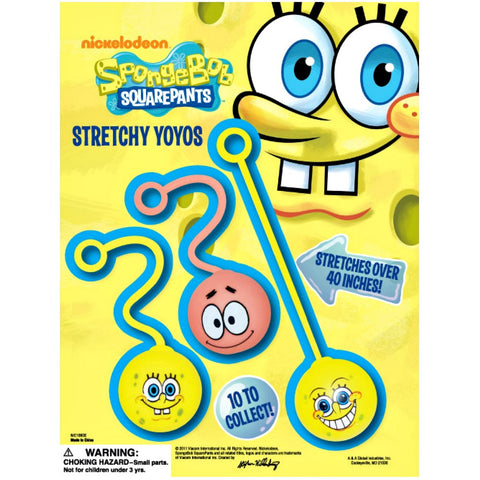 "2"" SPONGEBOB YOYO'S - 250 COUNT"