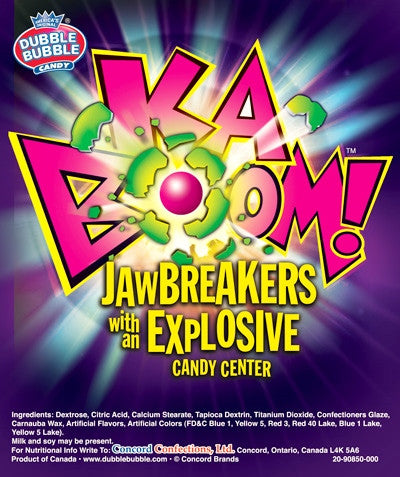CONCORD KABOOM JAWBREAKERS - 29 POUNDS