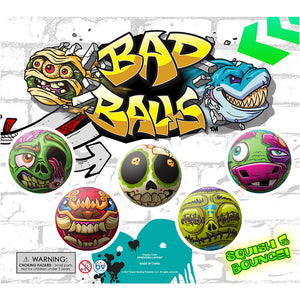 "2"" BAD BALLS SELF-VEND"