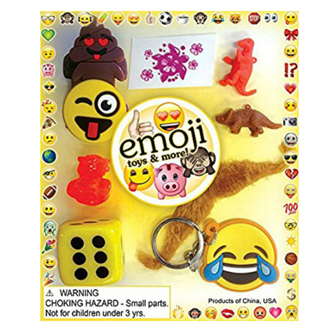"1"" EMOJI TOYS & MORE DISPLAY"